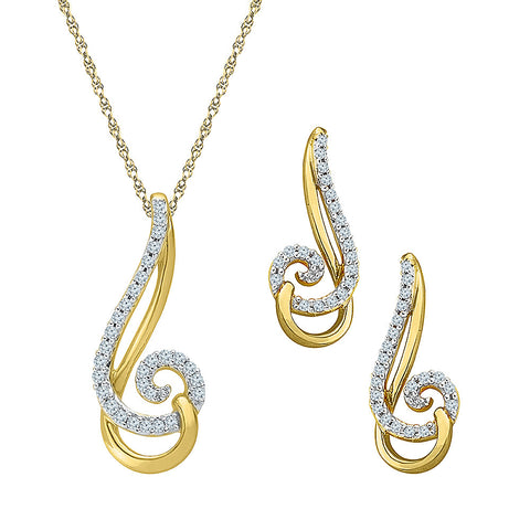 Swirly Dainty Fashion Pendant