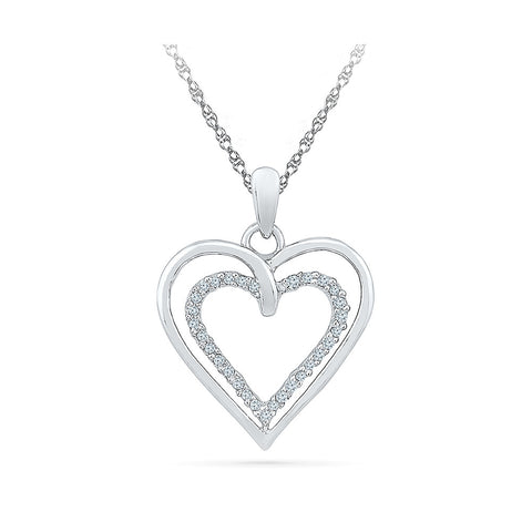 The Cupidon heart Pendant in 14k and 18k Gold online for women