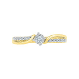 Best of Me Diamond Engagement Ring - Radiant Bay