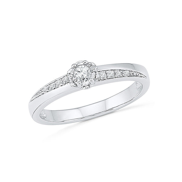 Say Yes Diamond Engagement Ring