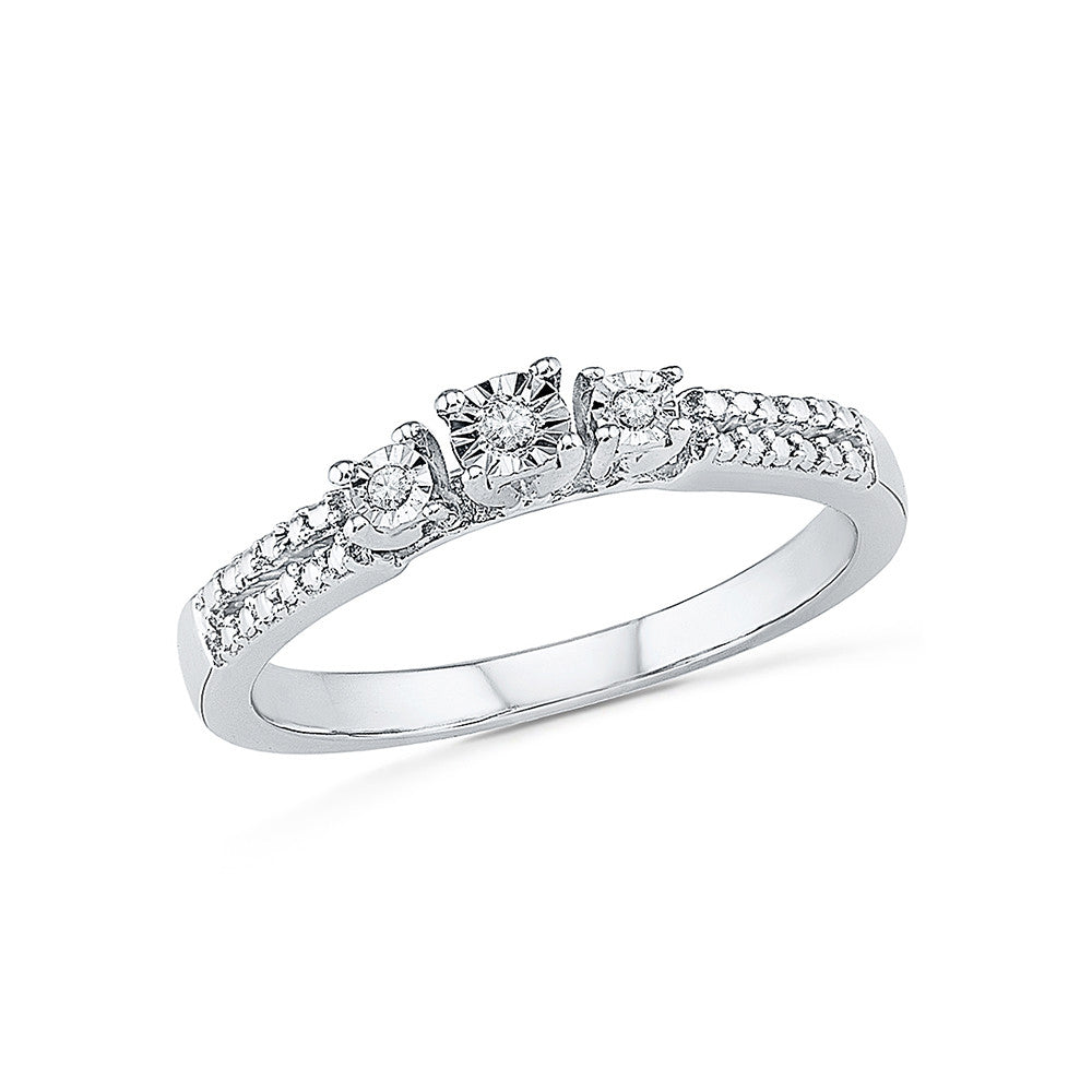 engagement yg wd champagne diamond hazeline ring products cd stone three unique
