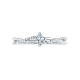 Solitaire Princess-cut Diamond Engagement Ring