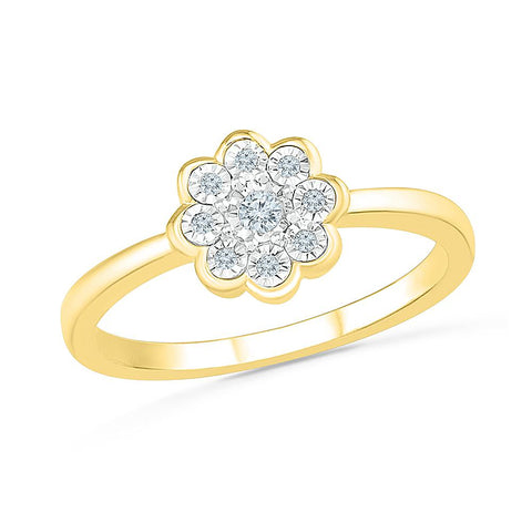 Goregeous Beauty Floral Ring