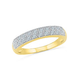 The Luxurious Diamond Band Ring