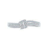 Knot of Life Diamond Ring
