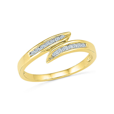 14k, 18k white and yellow gold Entice Everyday Diamond Ring in CHANNEL setting for women online