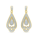 Ethnic Treasure Diamond Danglers