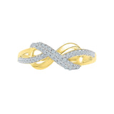 Infinity Bows Everyday Diamond Ring
