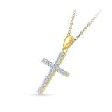 Holy Cross Diamond Pendant