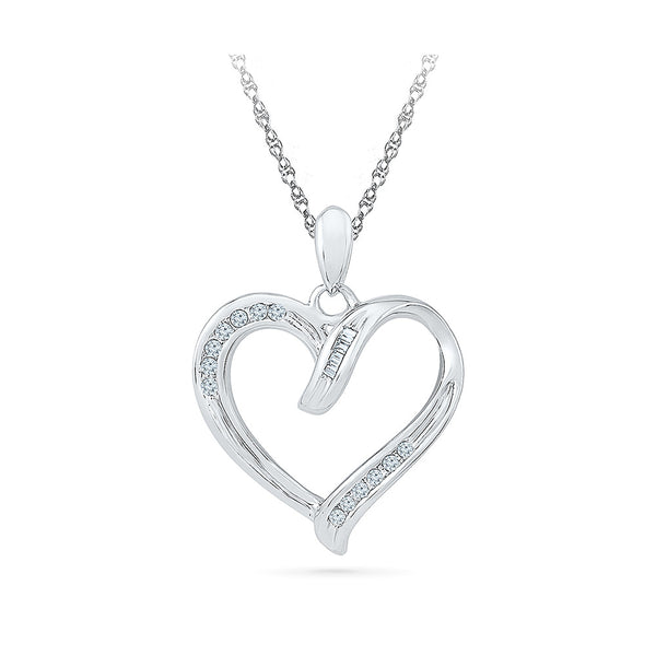 Happy Diamonds Heart Pendant in 14k and 18k Gold online for women