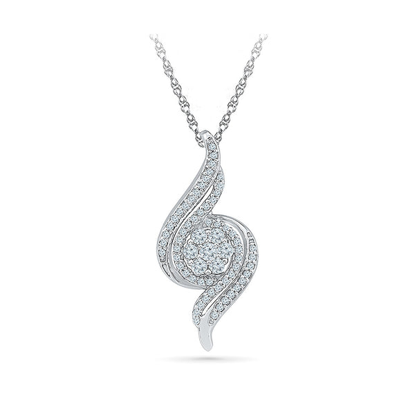 The Connection Diamond Pendant in 14k and 18k Gold online for women