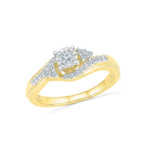 Eternal Union Diamond Engagement Ring