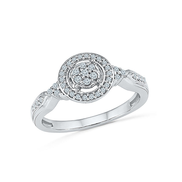 Wedlock Vow Diamond Engagement Ring