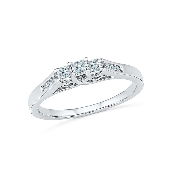 Allure Everyday Diamond Ring - Radiant Bay