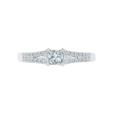 Splendid Solitaire Diamond Engagement Ring