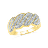 14kt / 18kt white and yellow gold Soul Soarkles Everyday Diamond Ring in PRONG for women online