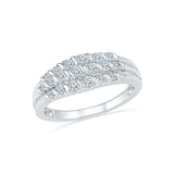 14kt / 18kt white and yellow gold Vogue Twist Diamond Cocktail Ring in CHANNEL for women online