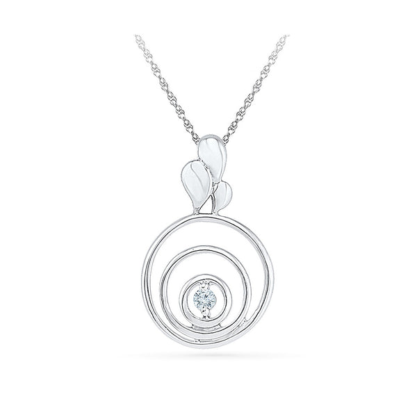Blossom Forth Diamond Pendant - Radiant Bay
