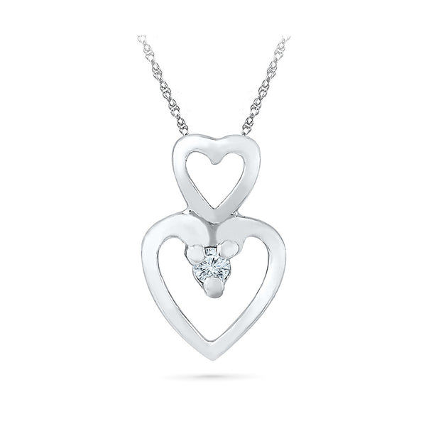 Heartiest Everyday Diamond Pendant in 14k and 18k Gold online for women