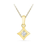 Always Shine Diamond Pendant - Radiant Bay