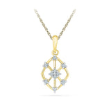 High-rise Diamond Pendant