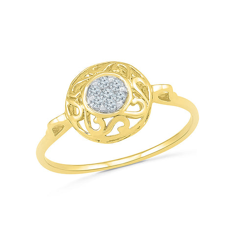 Artistic Sunshine Diamond Ring - Radiant Bay