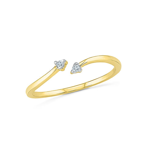 14k, 18k white and yellow gold Adulation Diamond Everyday Ring in PRONG setting for women online