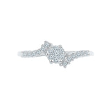 Floral Flakes Everyday Diamond Ring