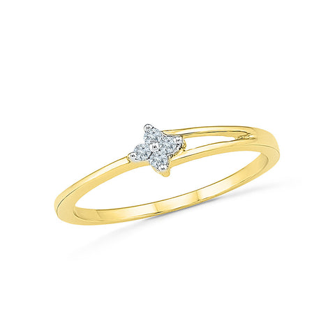 14k, 18k white and yellow gold Endearing Oath Diamond Engagement Ring in PRONG setting for women online