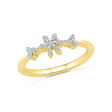 Pretty Petals Everyday Diamond Ring