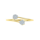 Floral Fond Everyday Diamond Ring