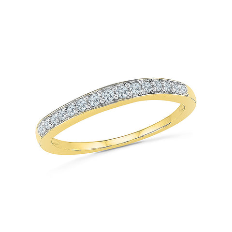 Connect Diamond Band Ring