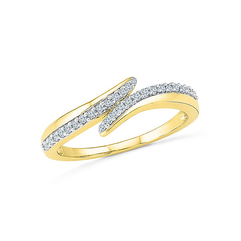 14k, 18k white and yellow gold Charm Everyday Diamond Ring in PRONG setting for women online
