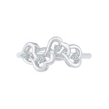 Heavenly Creations Diamond Heart Ring