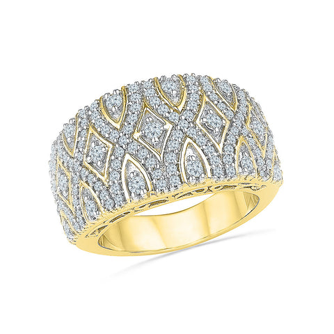 Diamond Treasures Cocktail Ring