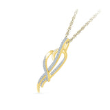 Heart Holder Diamond Pendant