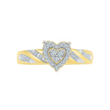 Love Always Heart Design Ring