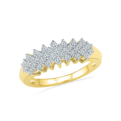 Astonishing Diamond Cocktail Ring