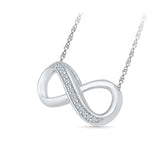 Infinity Attractions Diamond Necklace