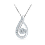 Pear Luminance Diamond Pendant in 14k and 18k Gold online for women