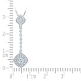 Dazzling Drop Diamond Pendant