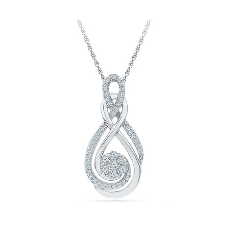 Centre of Attention Diamond Pendant in 14k and 18k Gold online for women