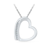 Style Essential Heart Pendant in 14k and 18k Gold online for women