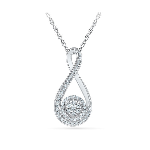 Apealing Everyday Diamond Pendant - Radiant Bay