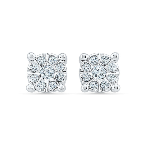 Feel-Good Diamond Studs in 14k and 18k gold for women online