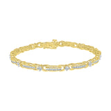 Miracle Linkage Diamond Bracelet