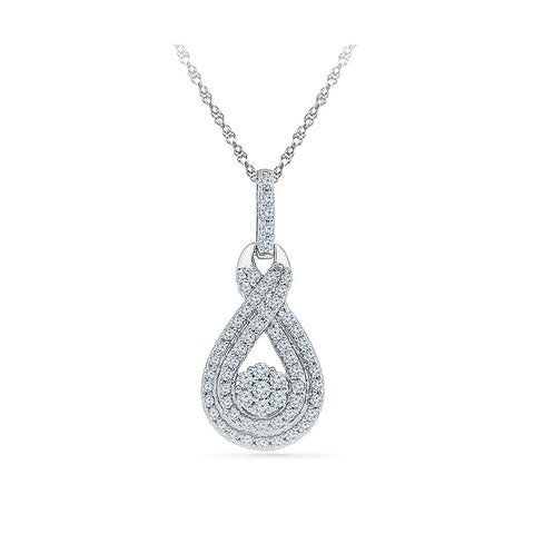 Beauticious Behold Diamond Pendant - Radiant Bay