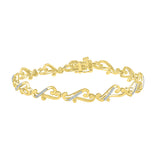 Alluring Attachment Diamond Bracelet