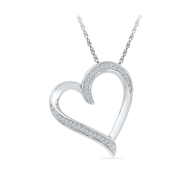 The Heartbeat Diamond Pendant