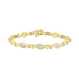Twined Together Diamond Bracelet